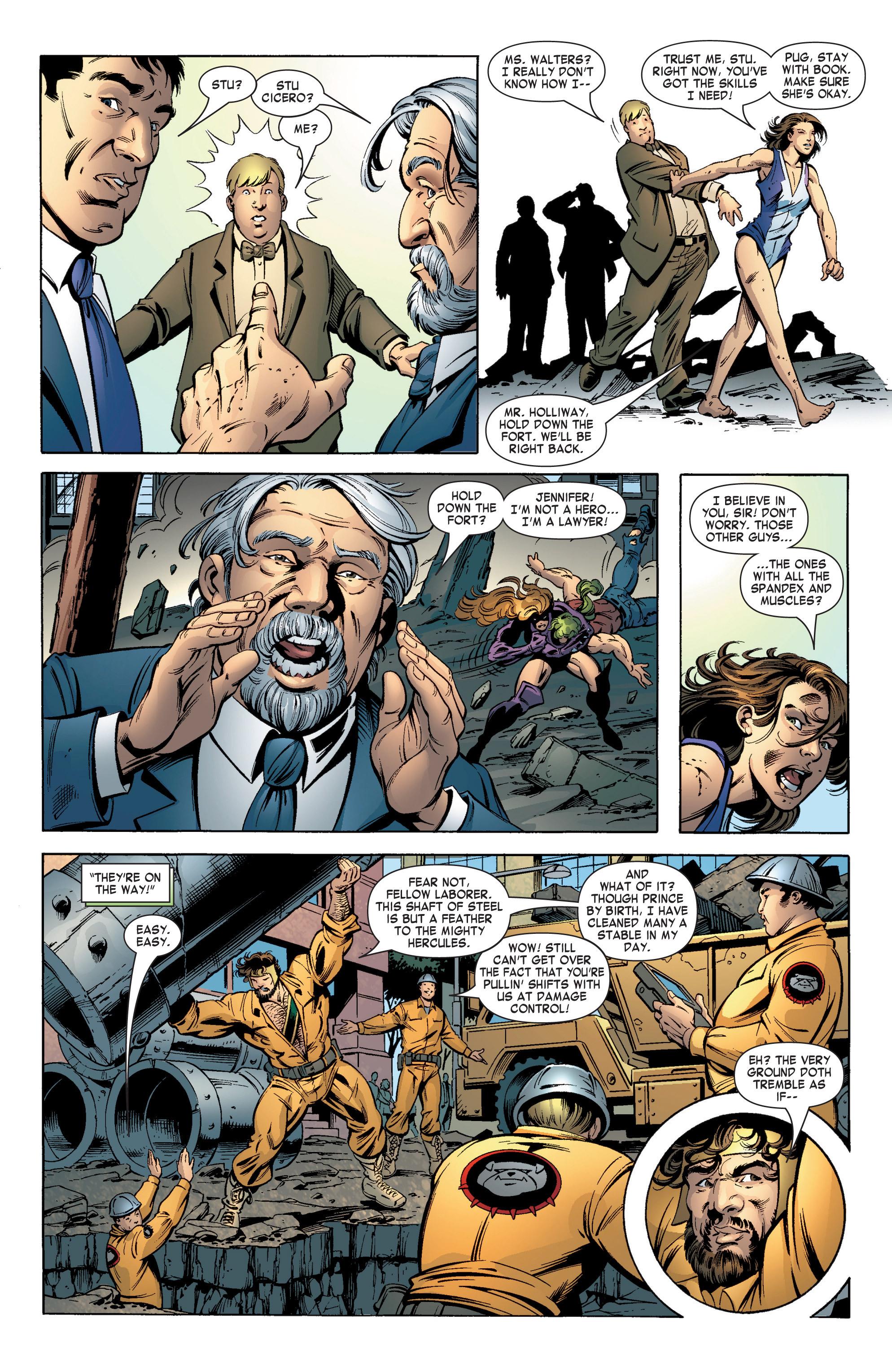 Read online She-Hulk (2004) comic -  Issue #12 - 8