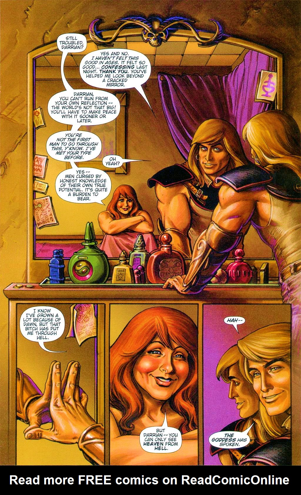 Read online Dawn: Three Tiers comic -  Issue #6 - 15