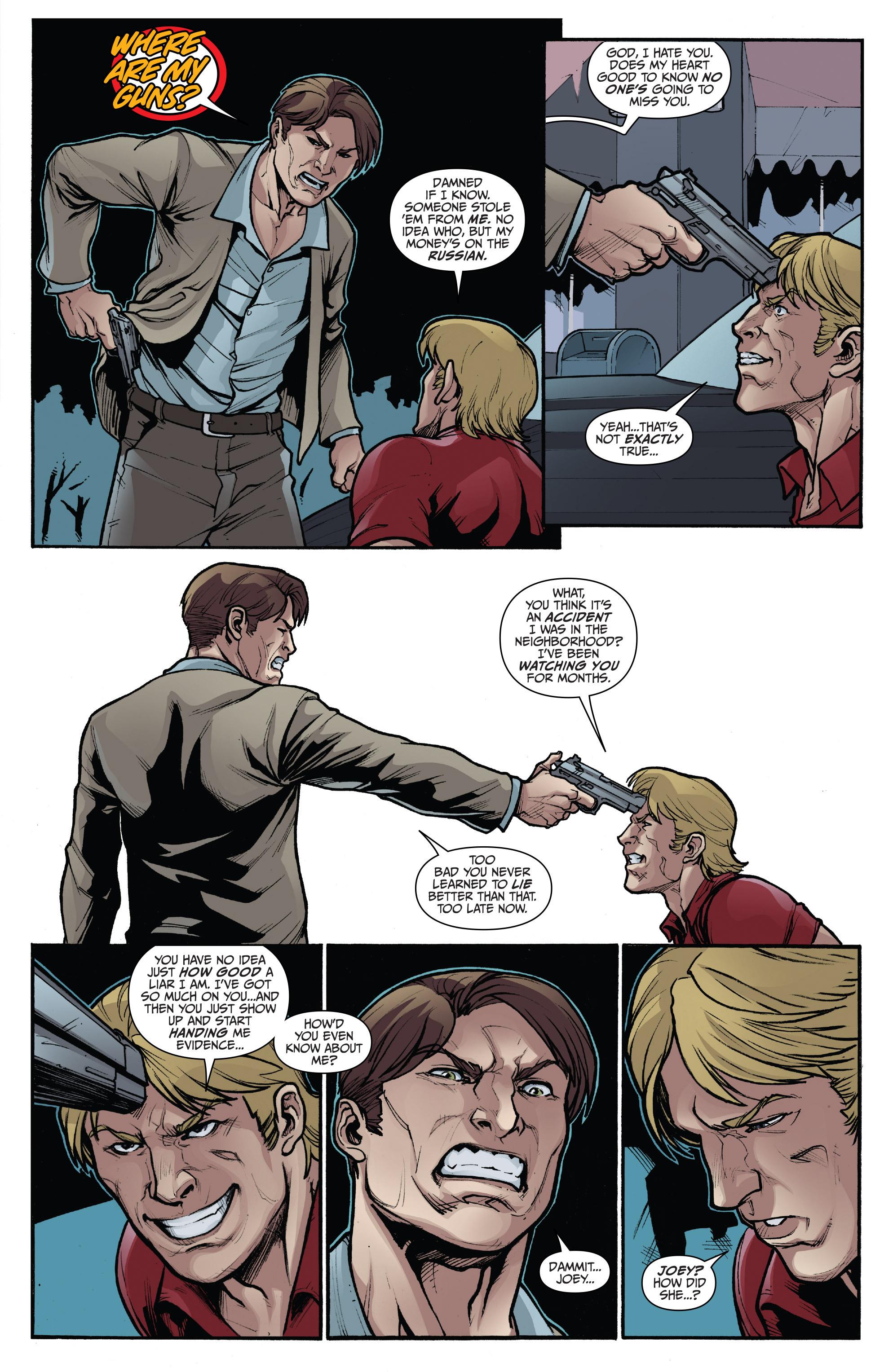 Read online 3 Guns comic -  Issue #4 - 9