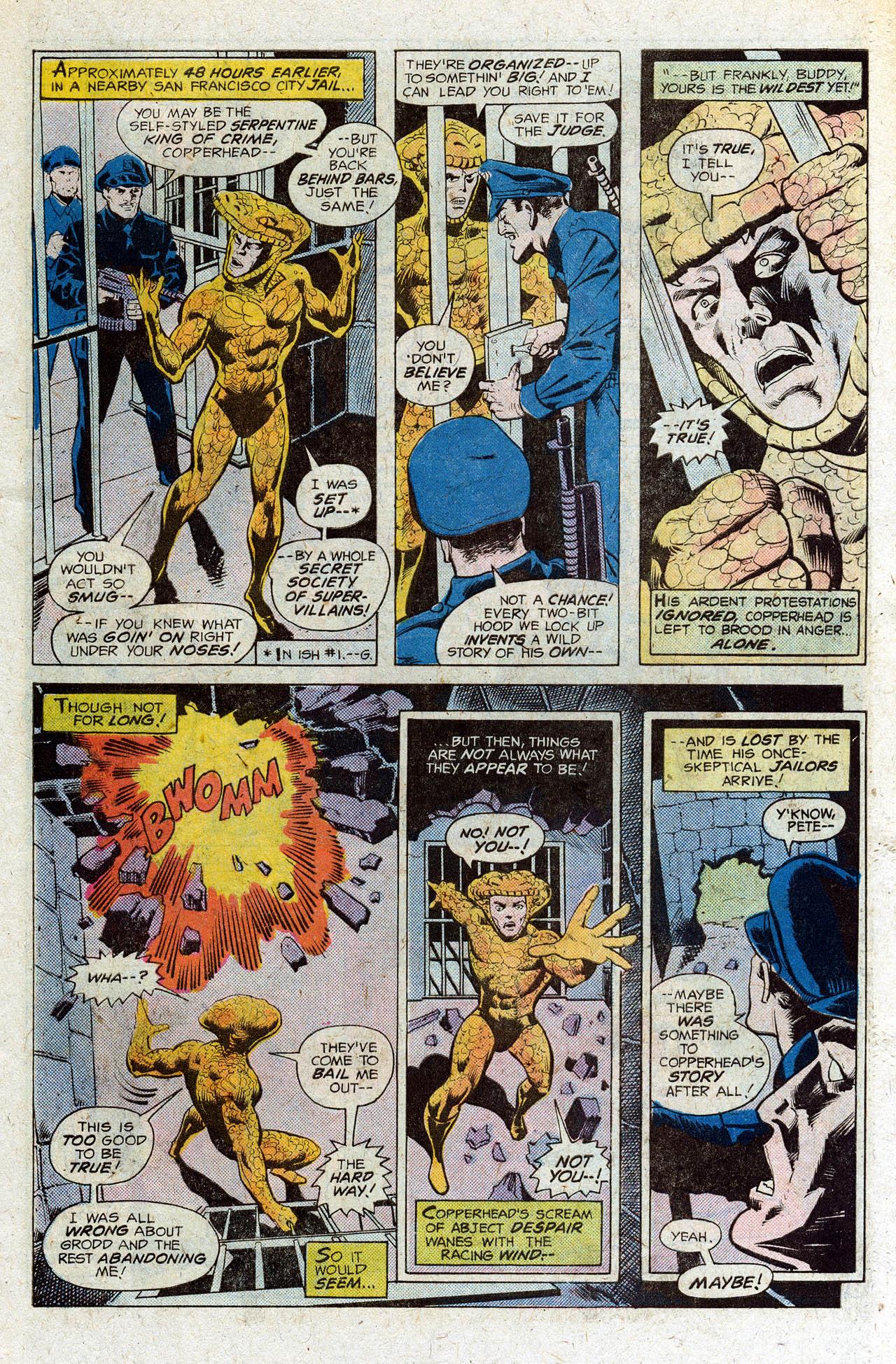 Read online Secret Society of Super-Villains comic -  Issue #3 - 10