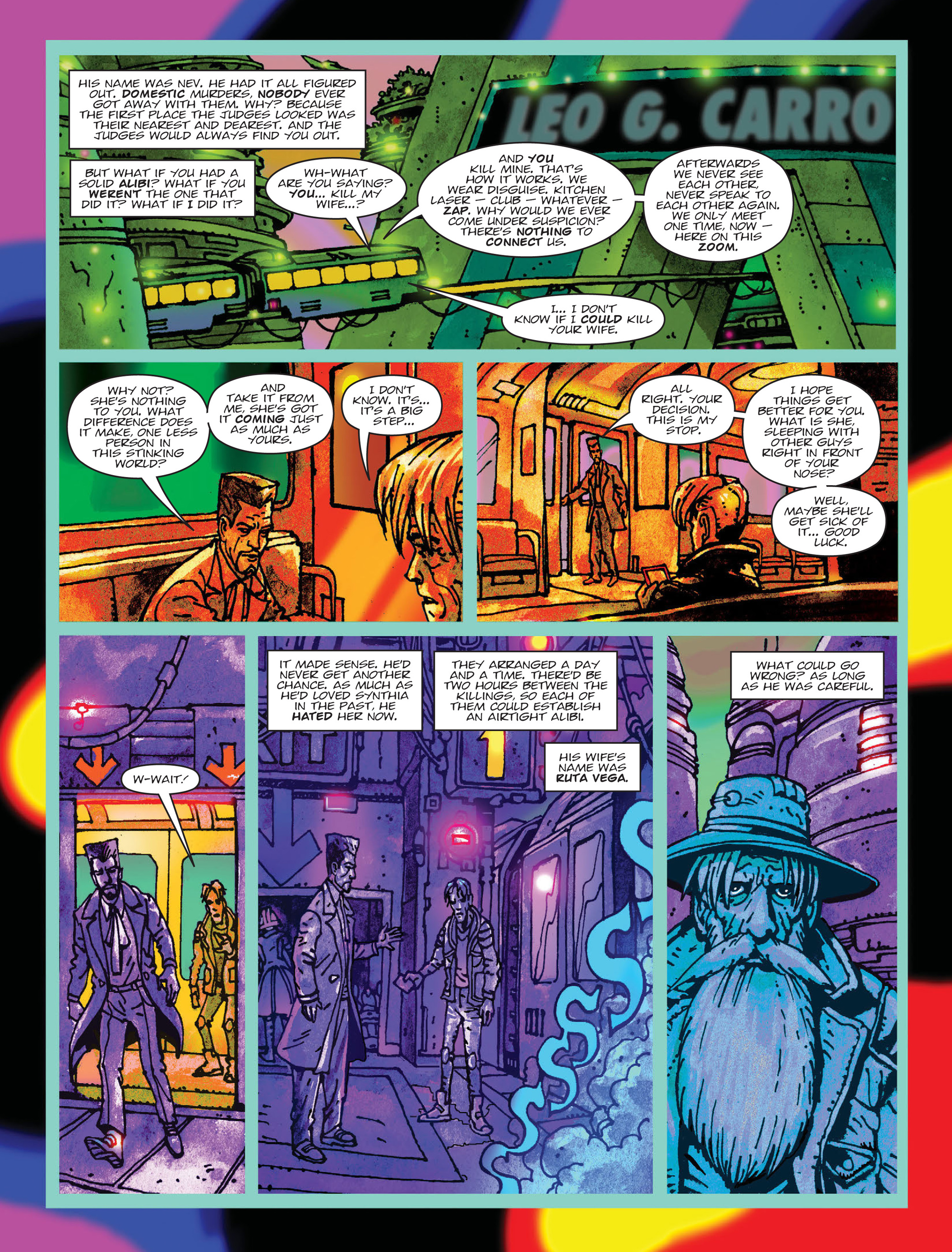 Read online 2000 AD comic -  Issue #2000 AD _Sci-Fi Special 2016 - 4