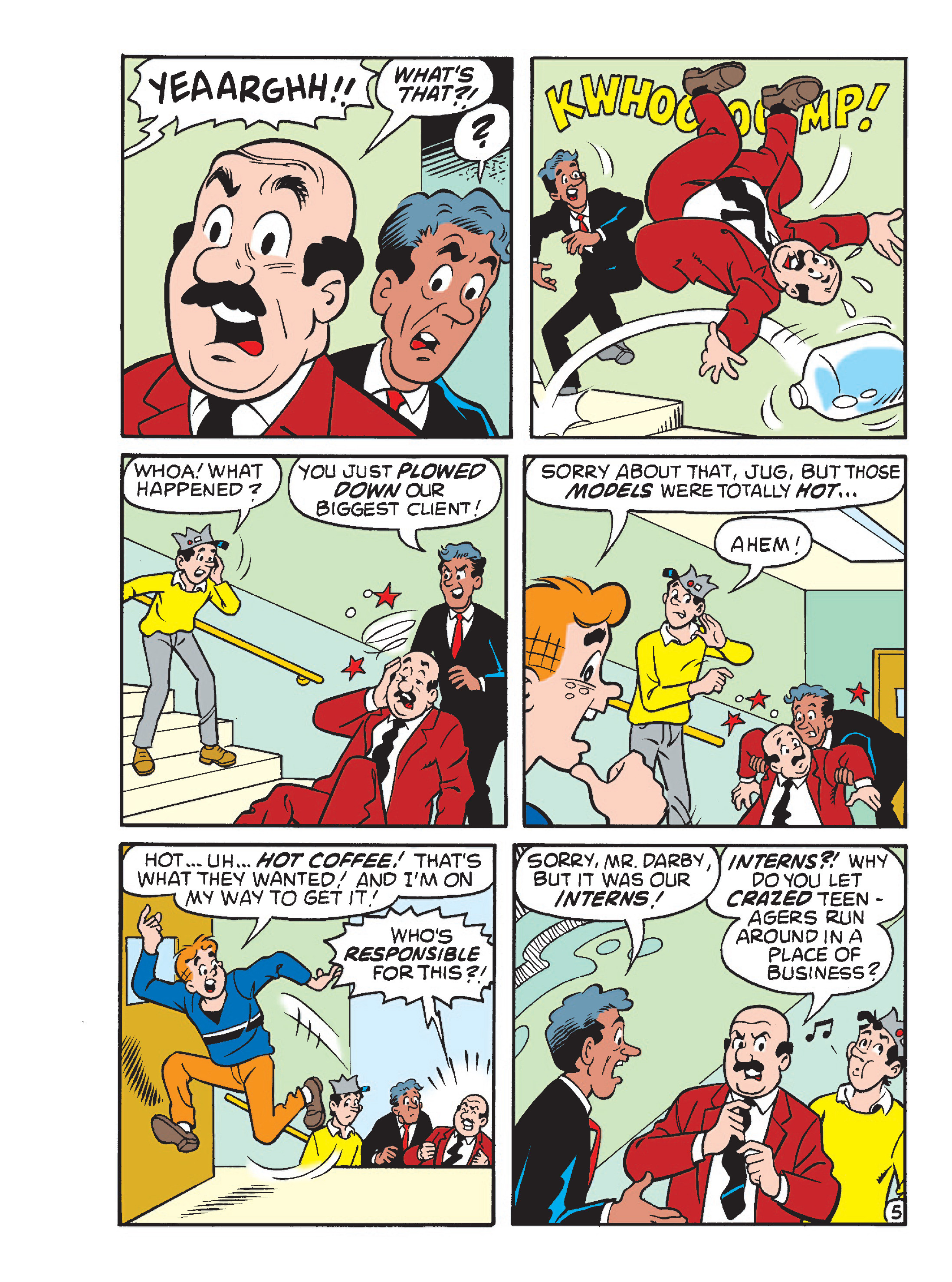 Read online Archie's Funhouse Double Digest comic -  Issue #23 - 97