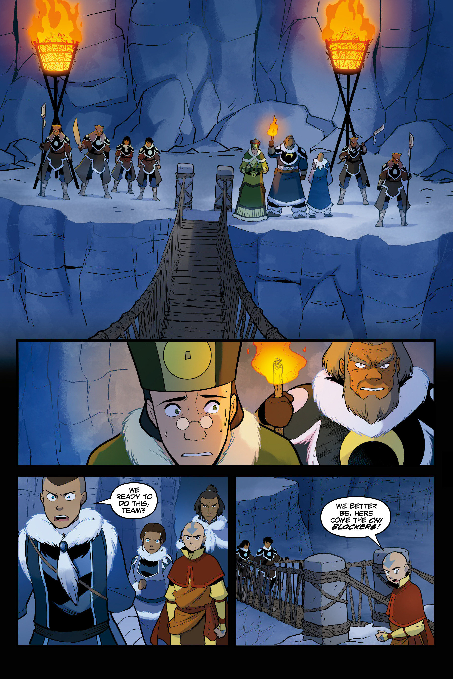 Read online Nickelodeon Avatar: The Last Airbender - North and South comic -  Issue #3 - 49