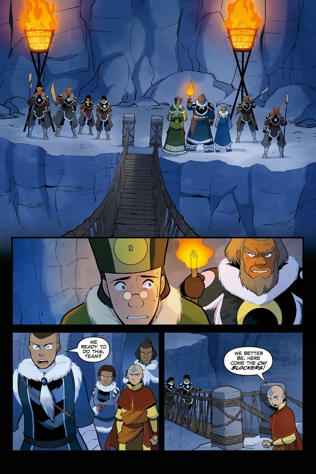 Nickelodeon Avatar: The Last Airbender - North and South issue 3 - Page 49