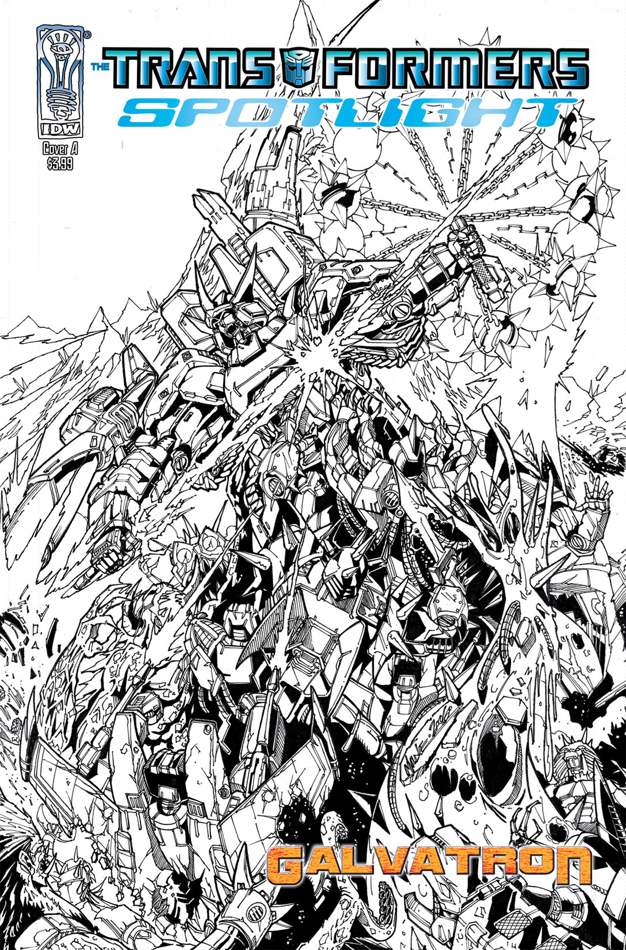 Read online Transformers Spotlight: Galvatron comic -  Issue # Full - 1
