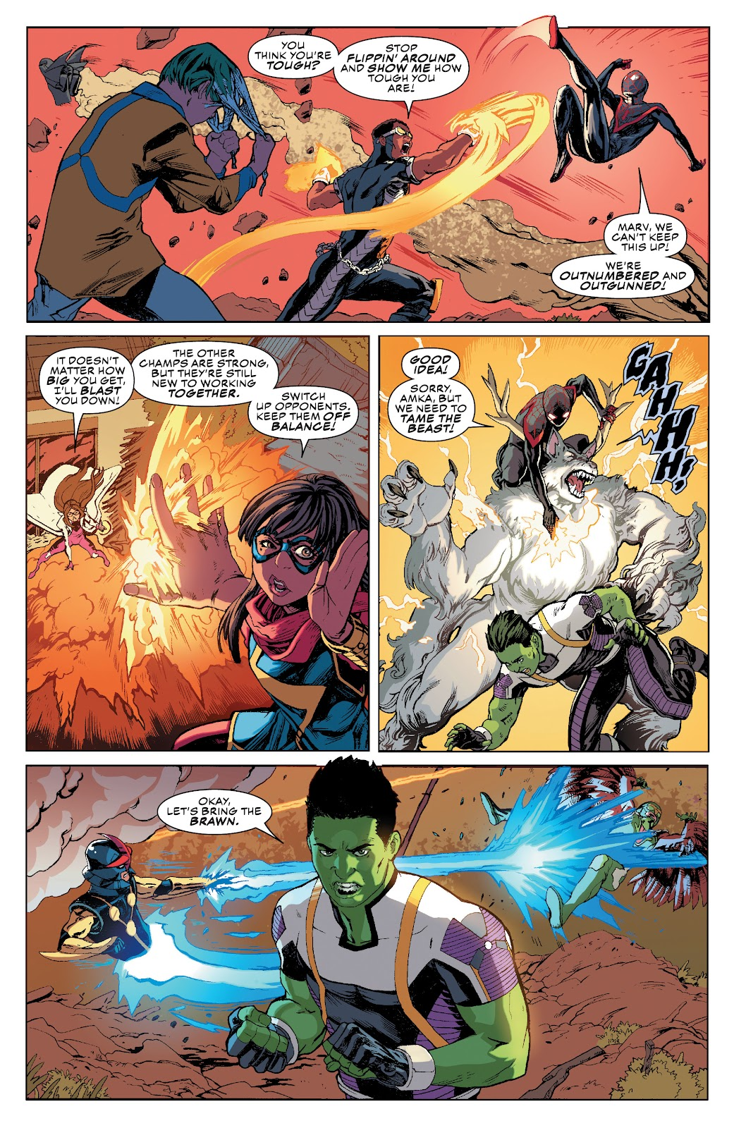 Read online Champions (2019) comic -  Issue #10 - 6