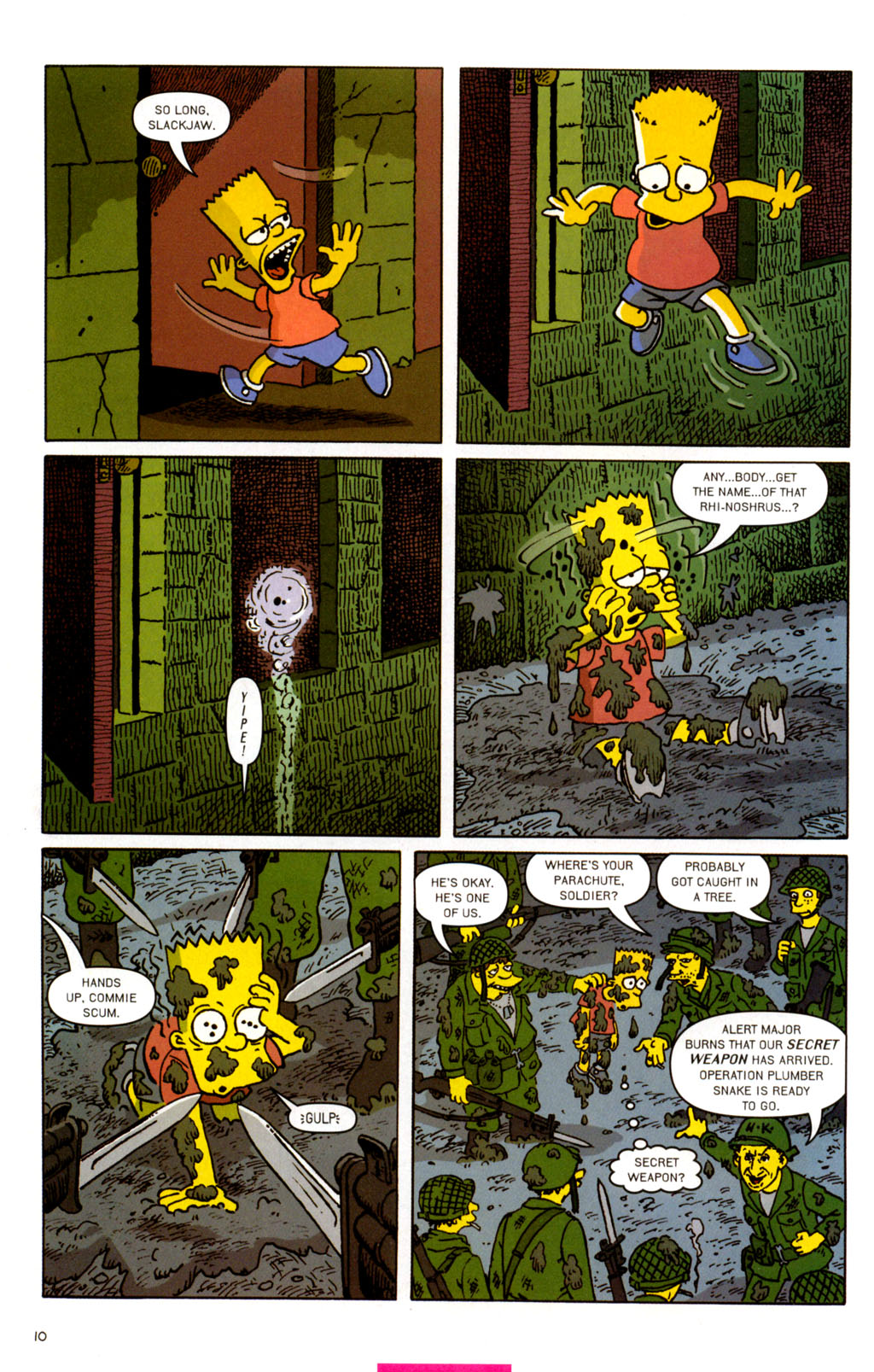 Read online Treehouse of Horror comic -  Issue #11 - 41