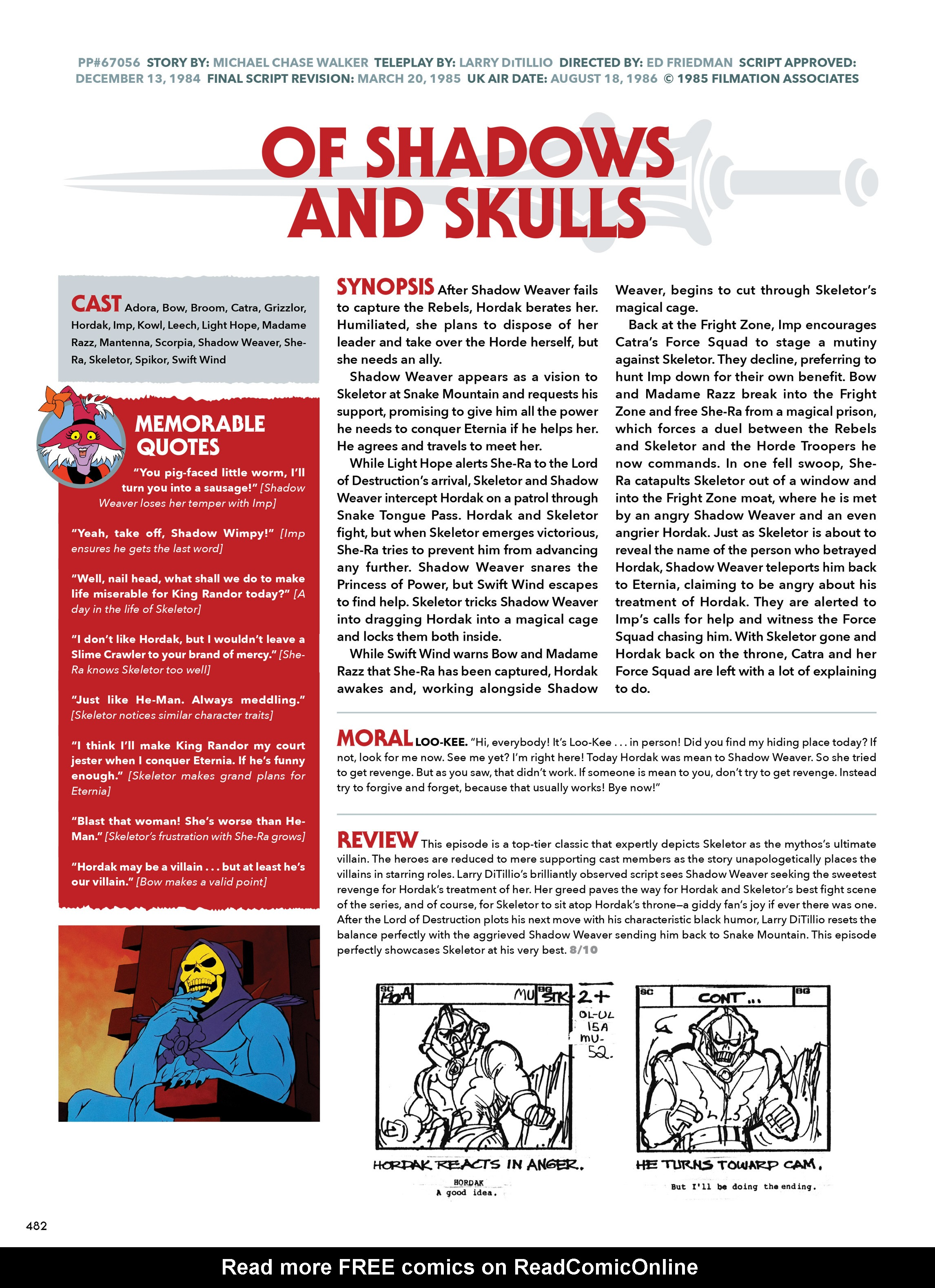 Read online He-Man and She-Ra: A Complete Guide to the Classic Animated Adventures comic -  Issue # TPB (Part 3) - 82