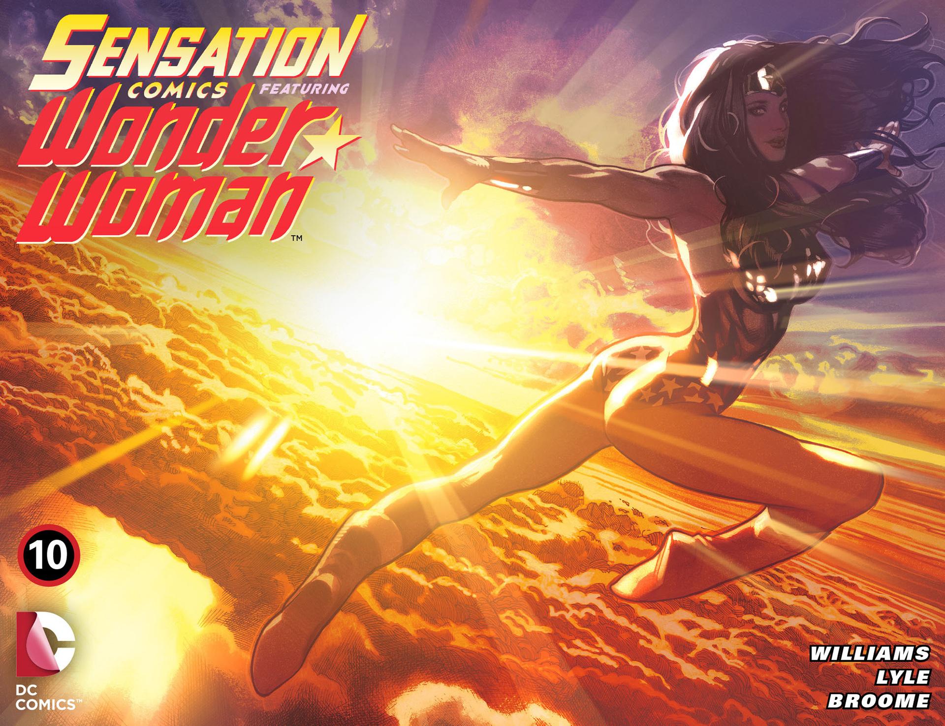 Read online Sensation Comics Featuring Wonder Woman comic -  Issue #10 - 1