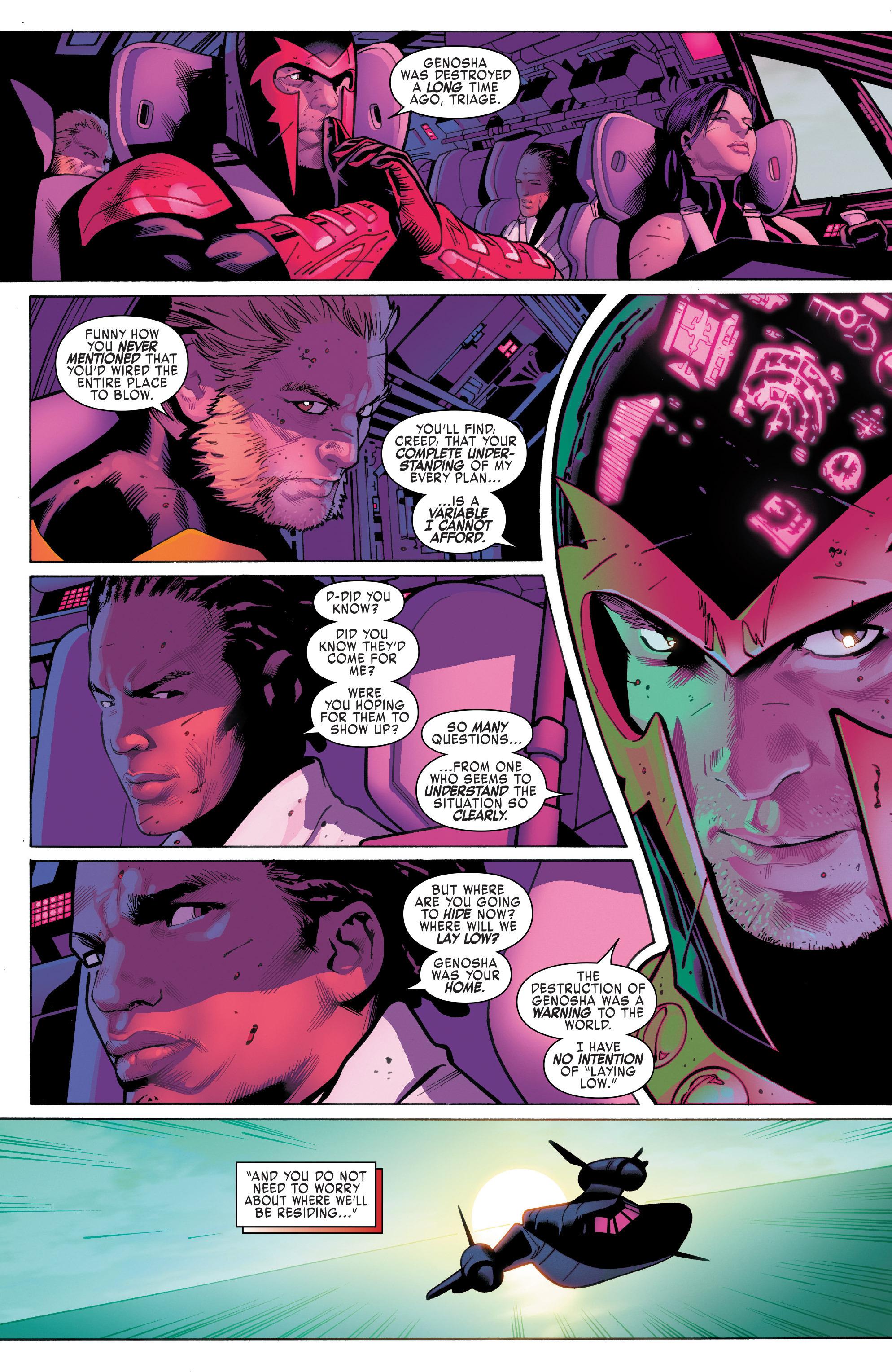 Read online Uncanny X-Men (2016) comic -  Issue #5 - 12