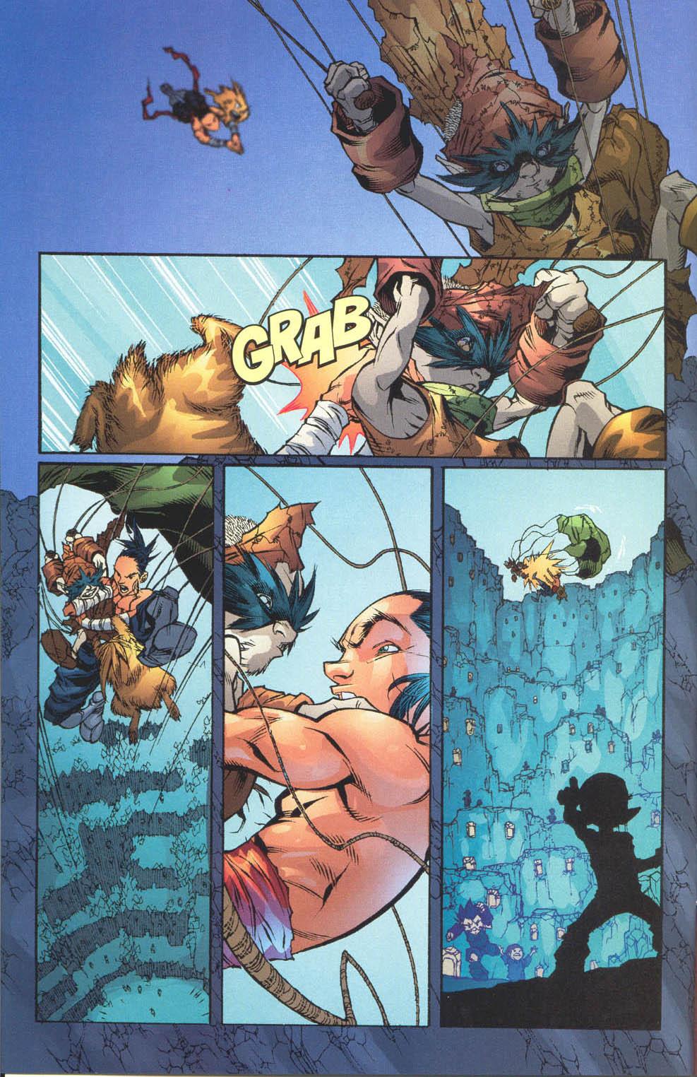 Read online Ninja Boy comic -  Issue #4 - 5