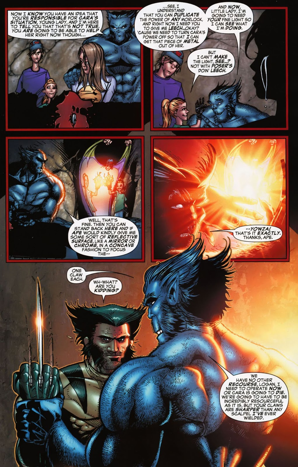 Read online Wolverine (2003) comic -  Issue #900 - 42