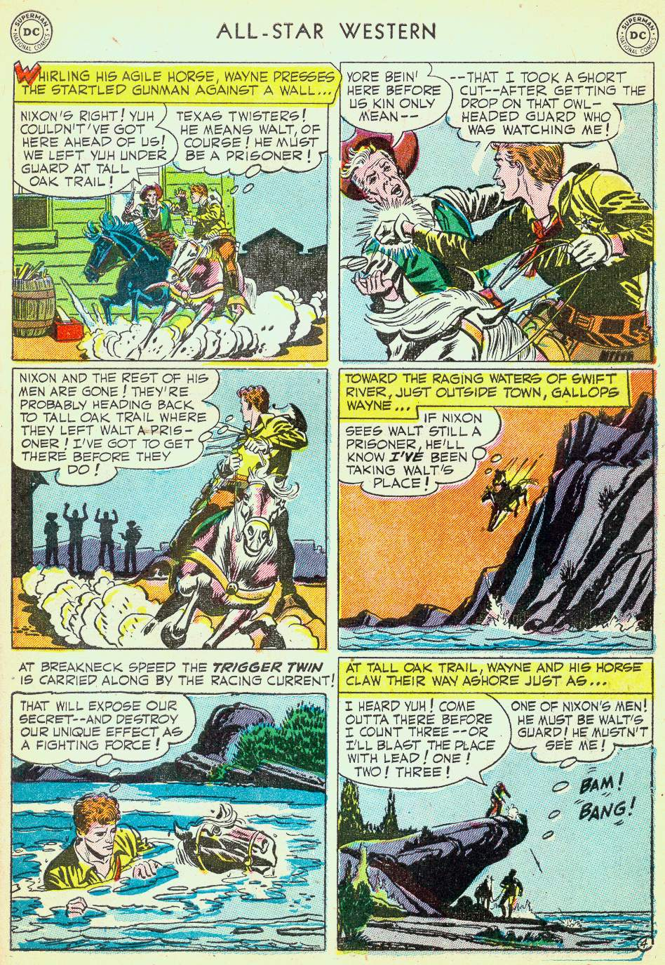 Read online All-Star Western (1951) comic -  Issue #63 - 31