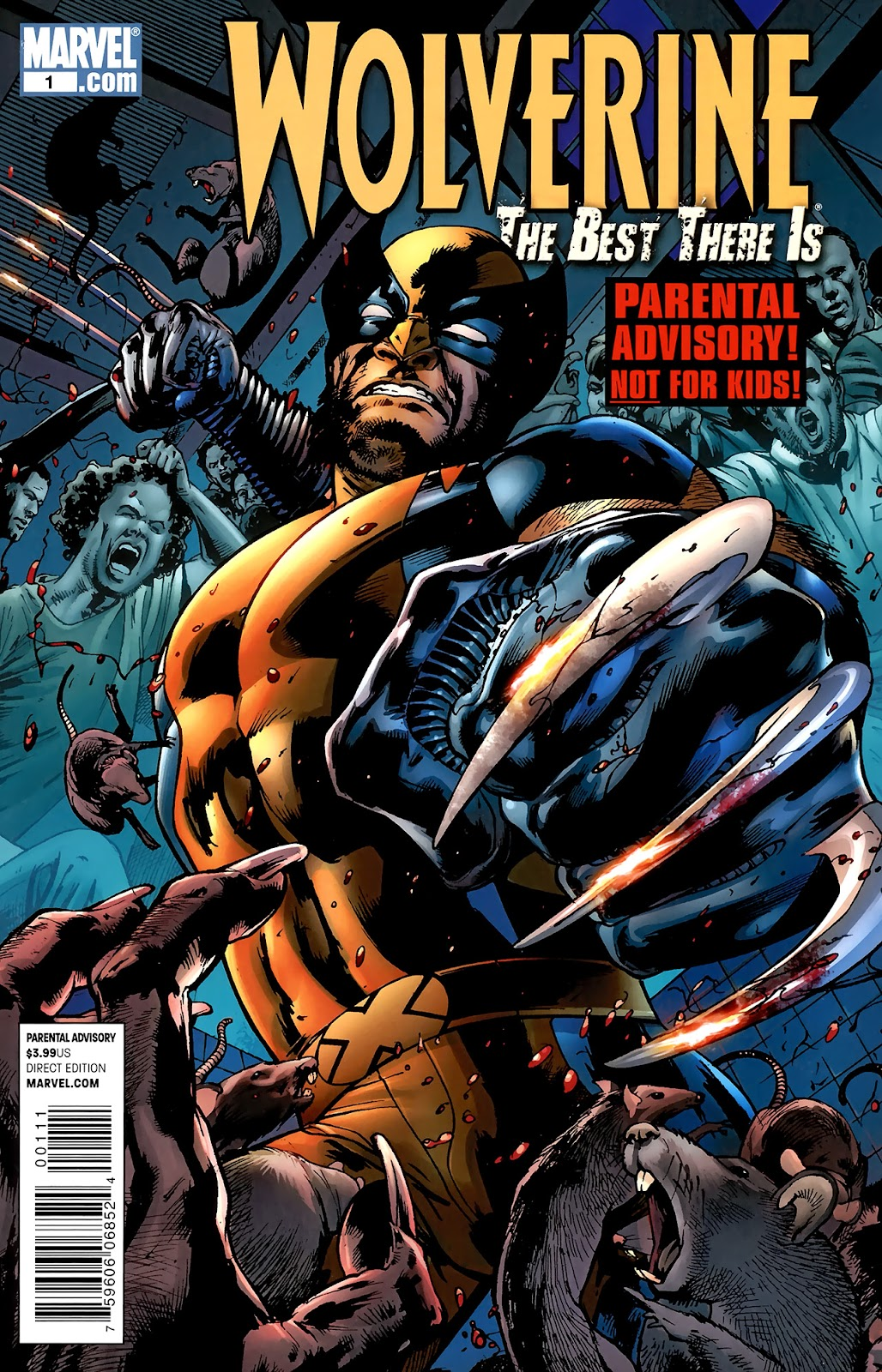 Wolverine: The Best There Is 1 Page 1