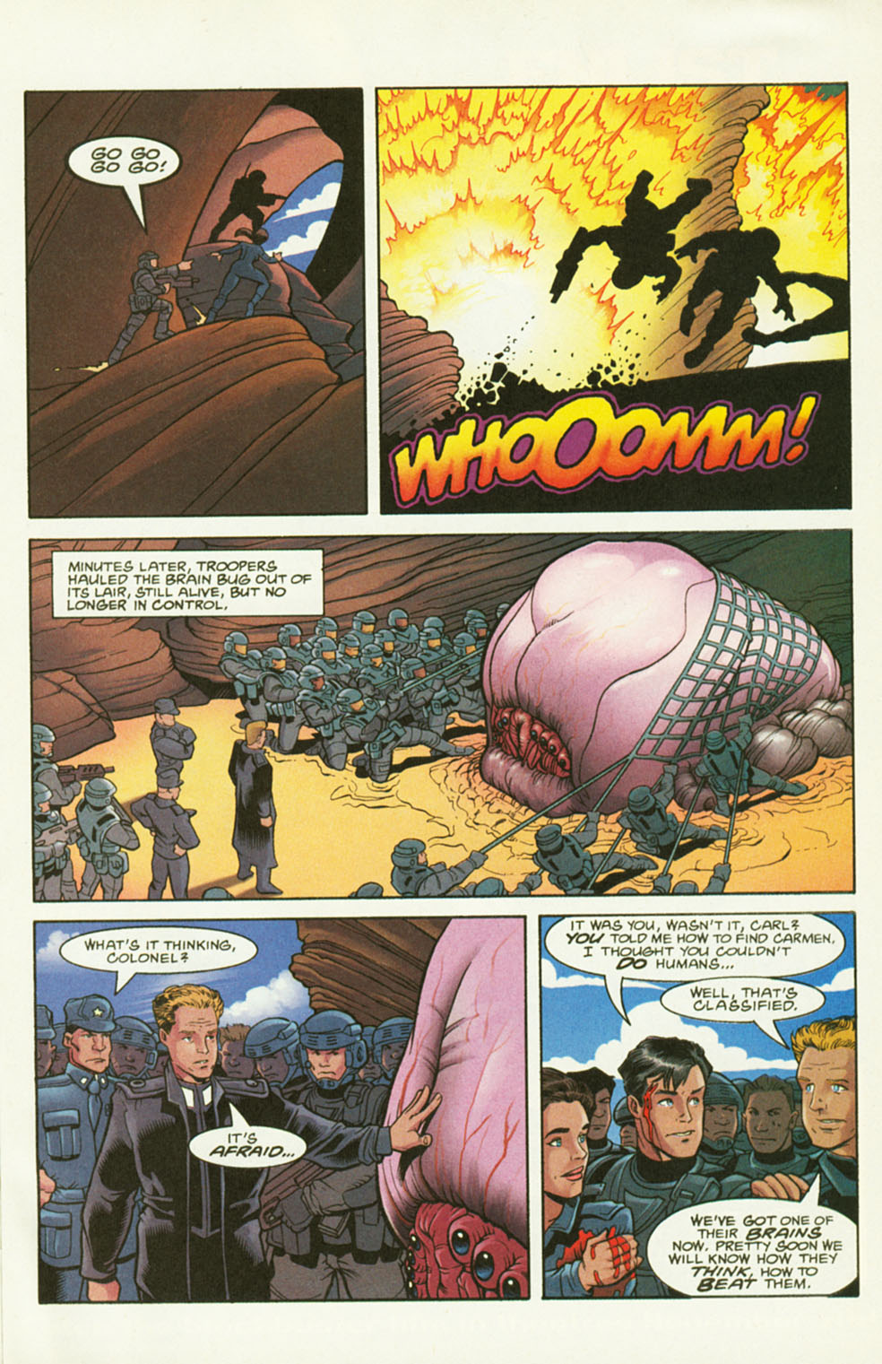Read online Starship Troopers comic -  Issue #2 - 23