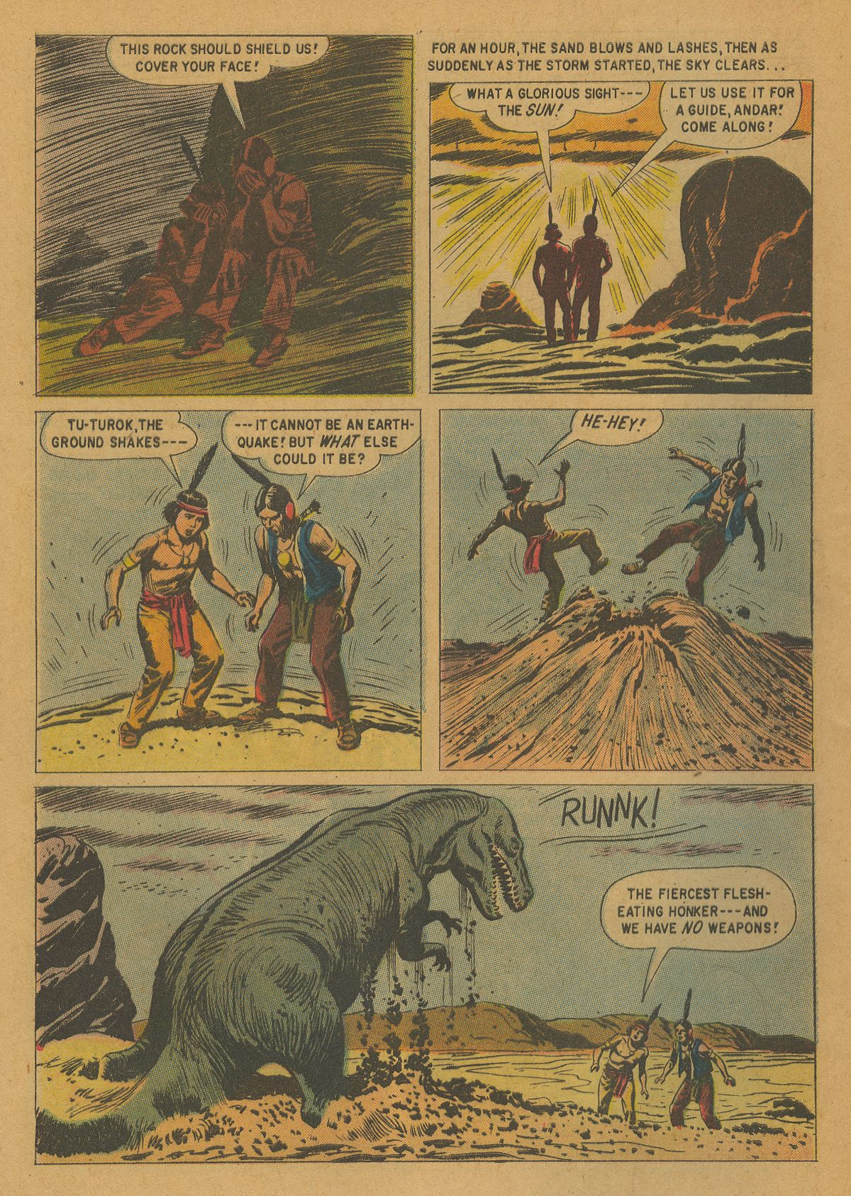 Read online Turok, Son of Stone comic -  Issue #21 - 32