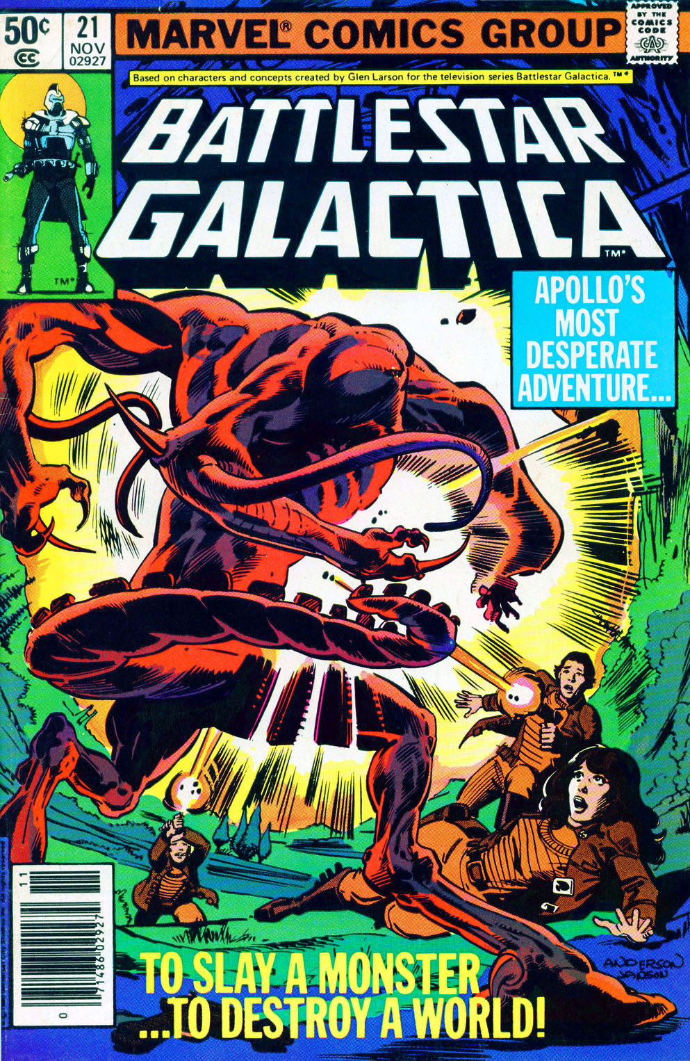 Battlestar Galactica 21 Page 1
