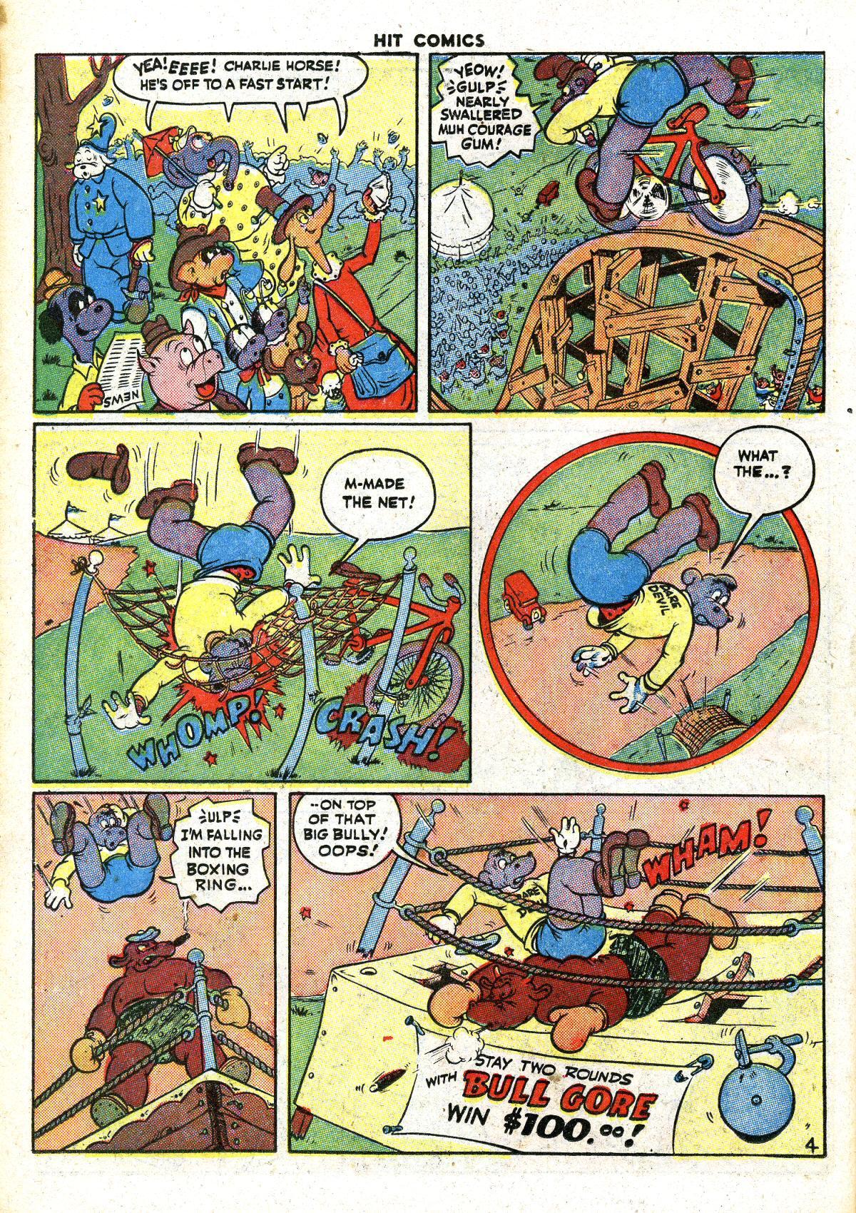 Read online Hit Comics comic -  Issue #41 - 42
