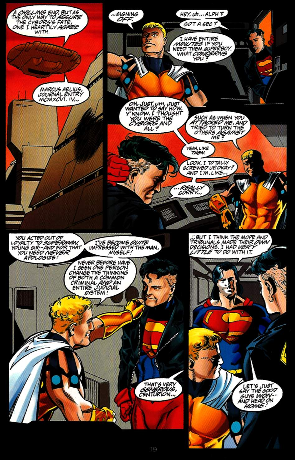 Read online Adventures of Superman (1987) comic -  Issue #531 - 20