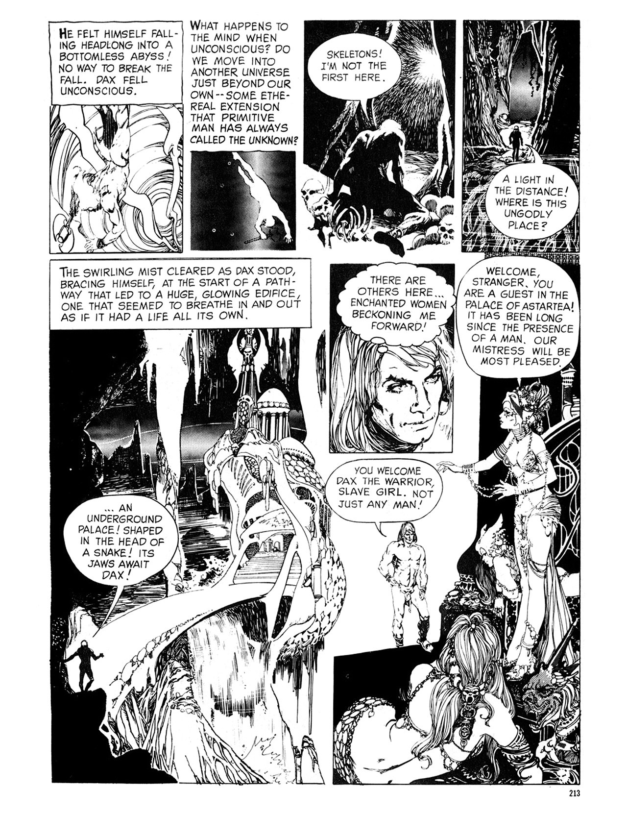 Read online Eerie Archives comic -  Issue # TPB 8 - 214