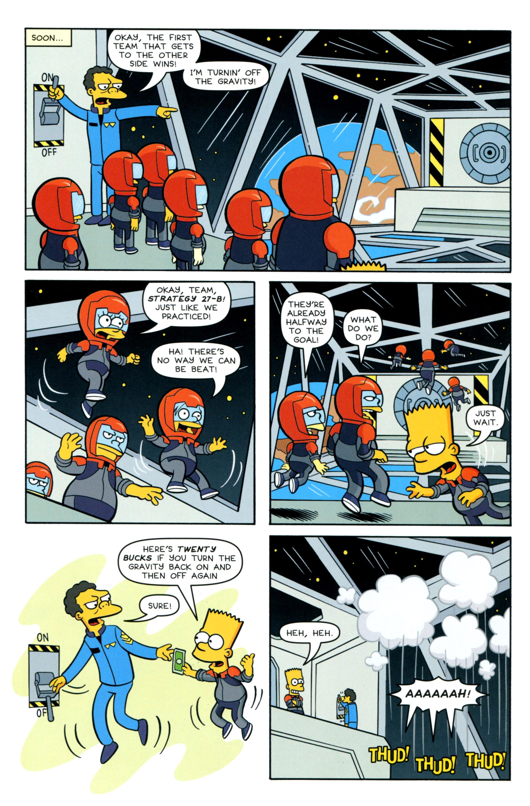 Read online Simpsons Comics comic -  Issue #218 - 21