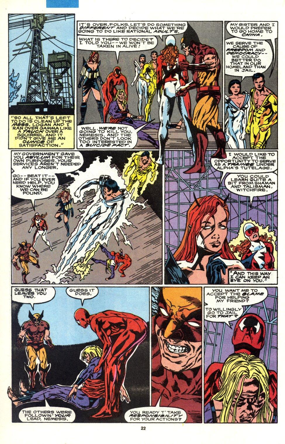 Read online Alpha Flight (1983) comic -  Issue #90 - 18