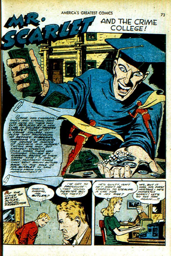 Read online America's Greatest Comics comic -  Issue #4 - 74