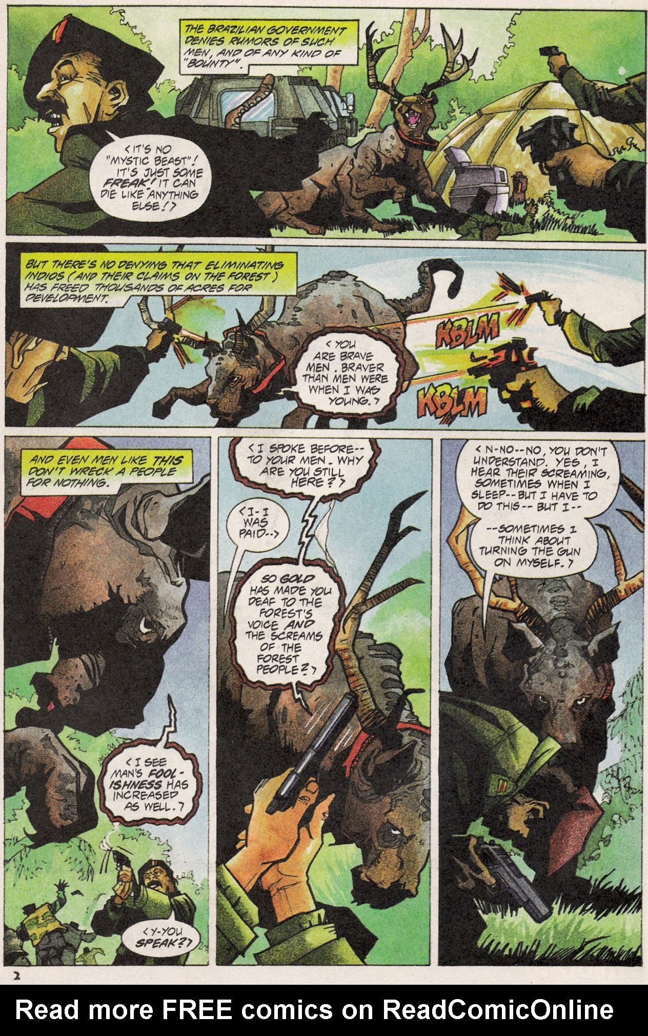 Read online Shadow Cabinet comic -  Issue #3 - 3