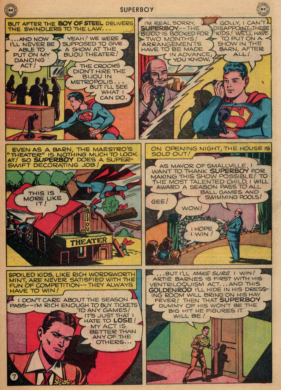 Superboy (1949) issue 3 - Page 35