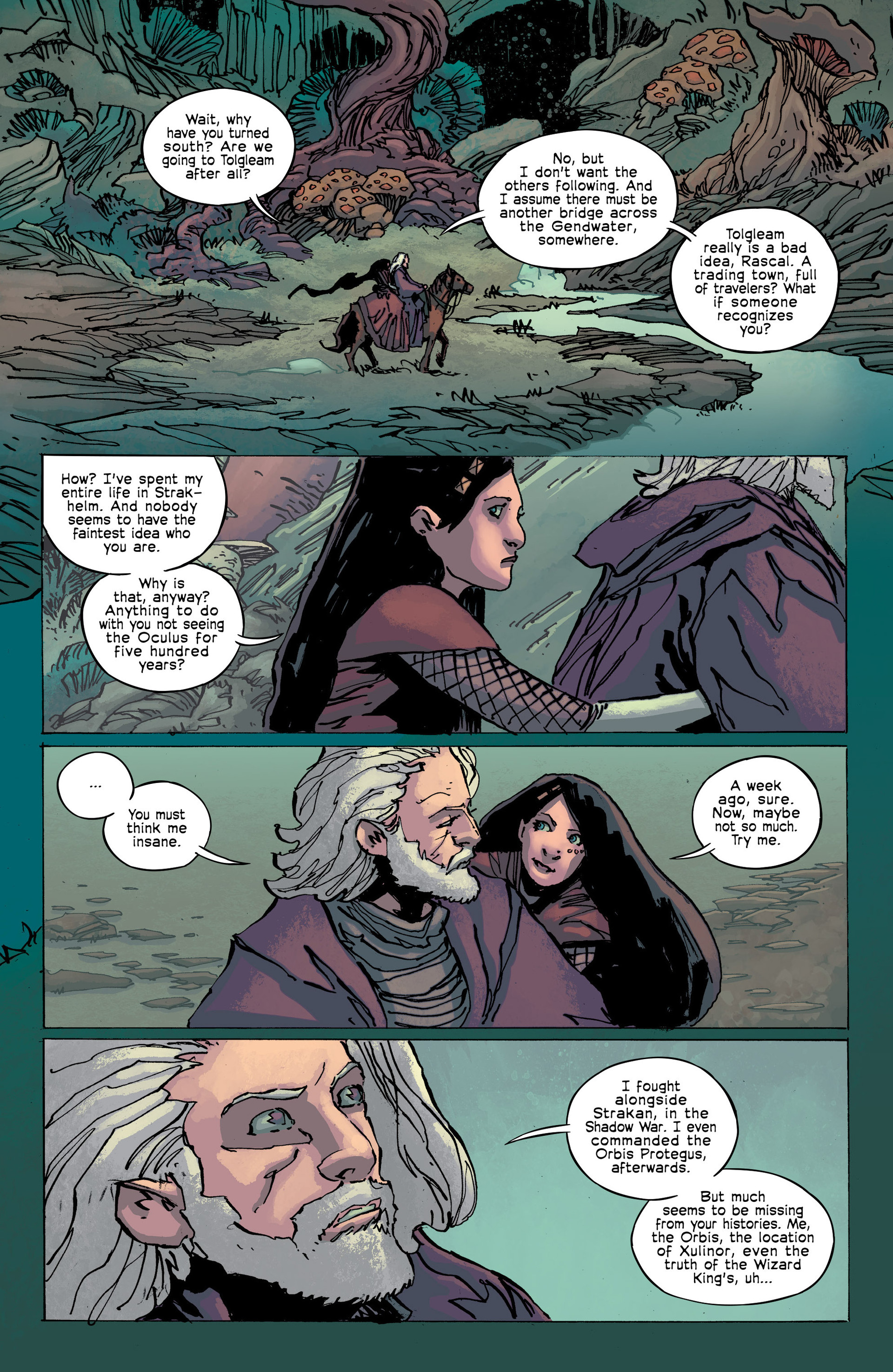 Read online Umbral comic -  Issue #8 - 22