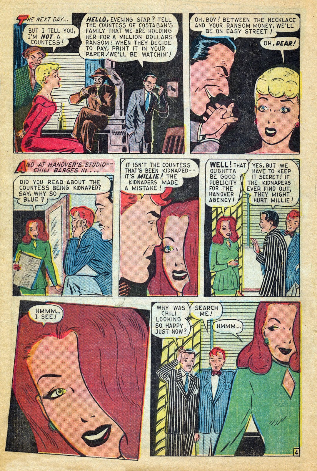 Read online Millie the Model comic -  Issue #14 - 6