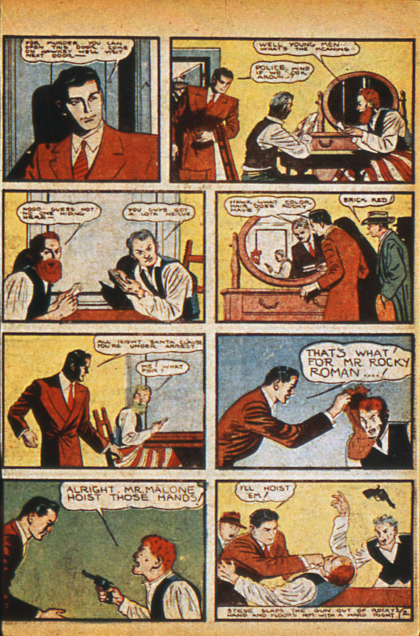 Read online Detective Comics (1937) comic -  Issue #36 - 31