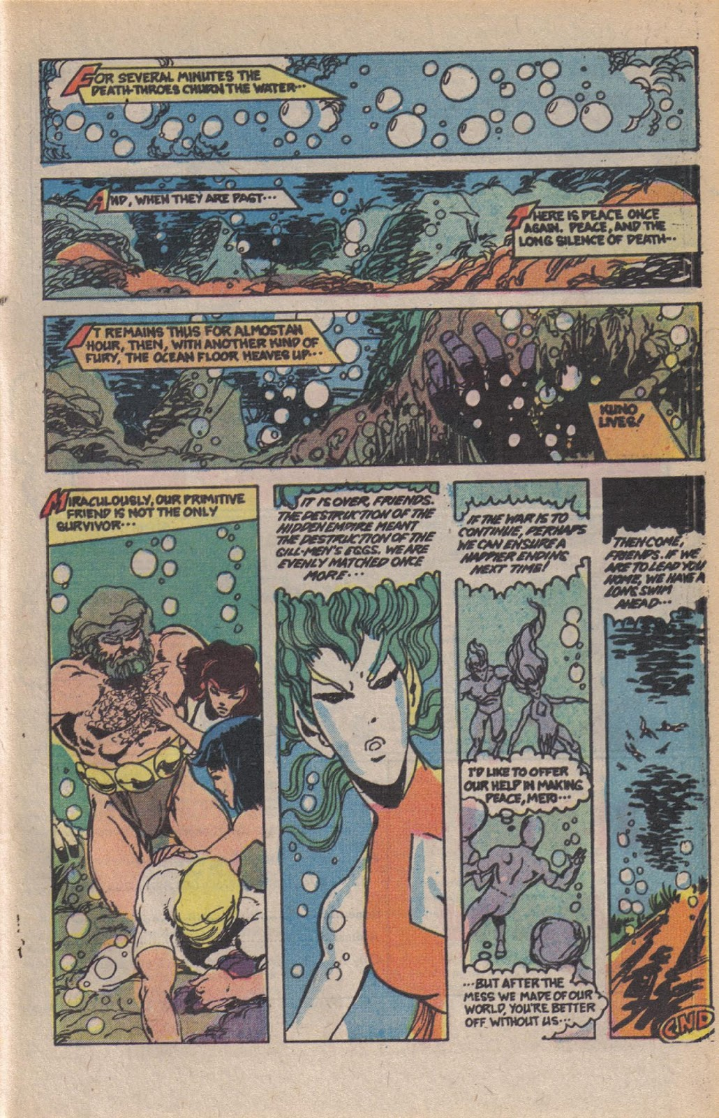 Read online Doomsday   1 (1975) comic -  Issue #10 - 28