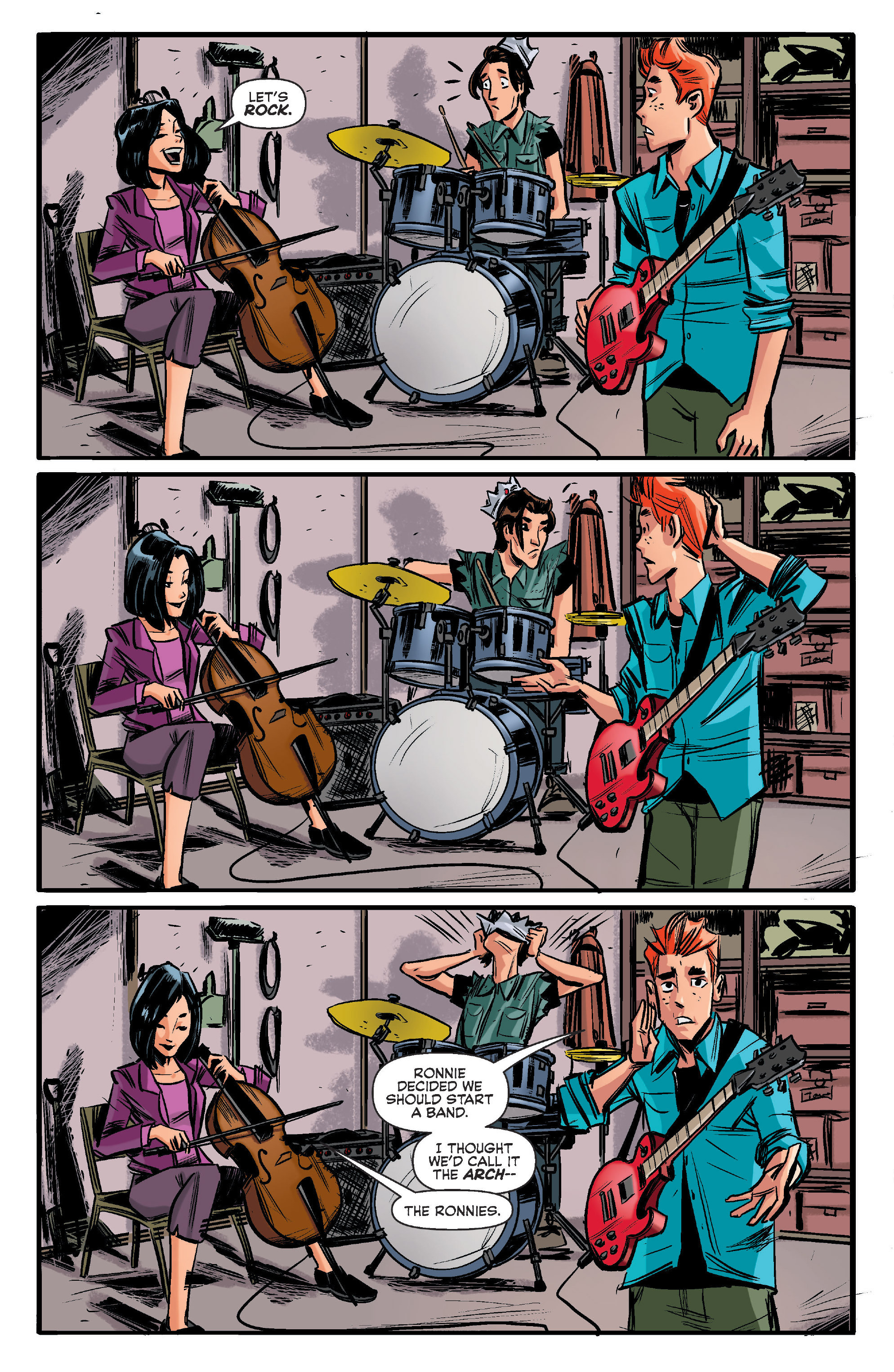 Read online Archie (2015) comic -  Issue #11 - 3