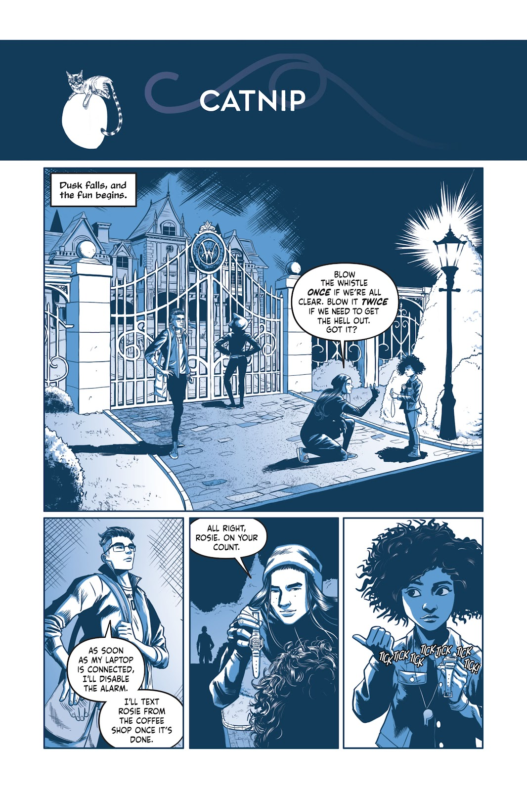 Read online Under the Moon: A Catwoman Tale comic -  Issue # TPB (Part 2) - 46