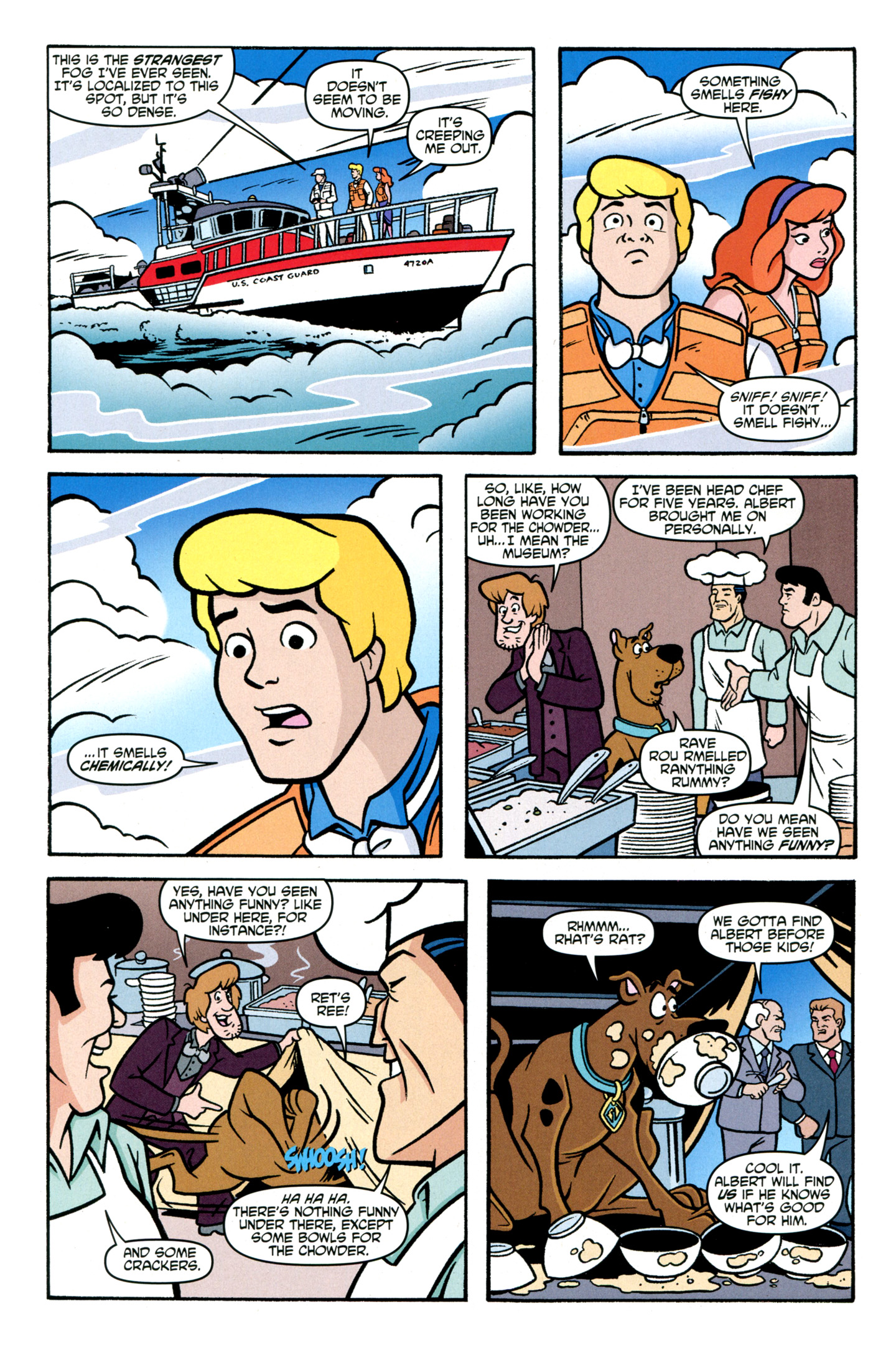 Read online Scooby-Doo: Where Are You? comic -  Issue #30 - 21