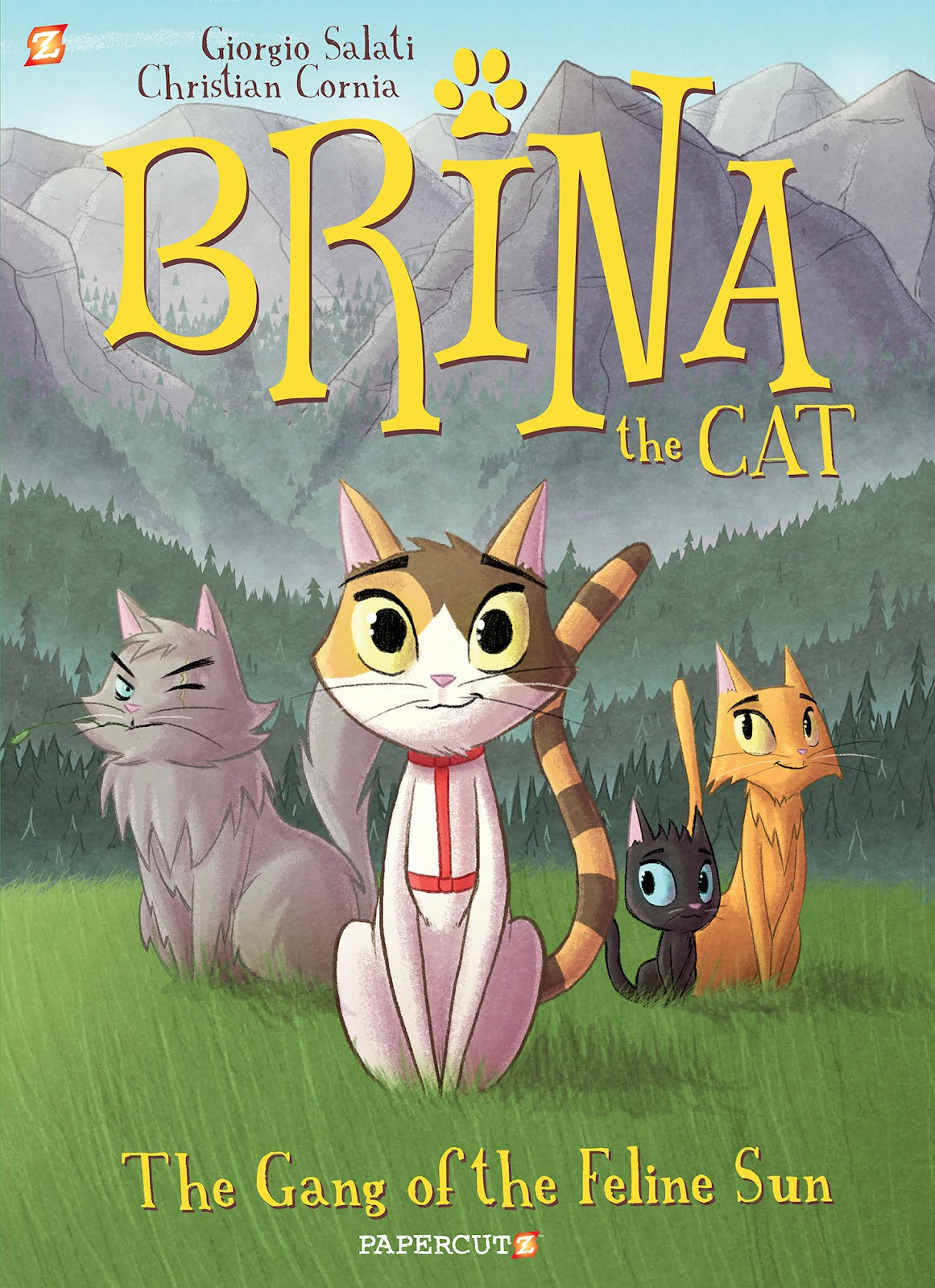 Brina the Cat issue TPB_1 - Page 1