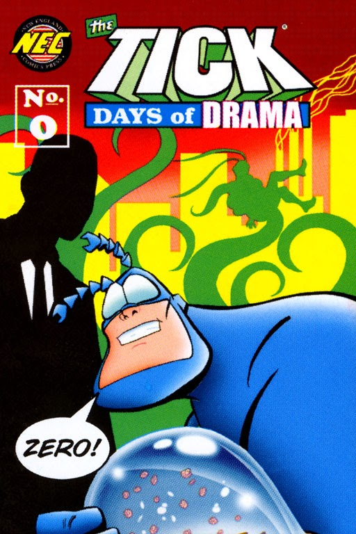 Read online The Tick: Days of Drama comic -  Issue #0 - 1