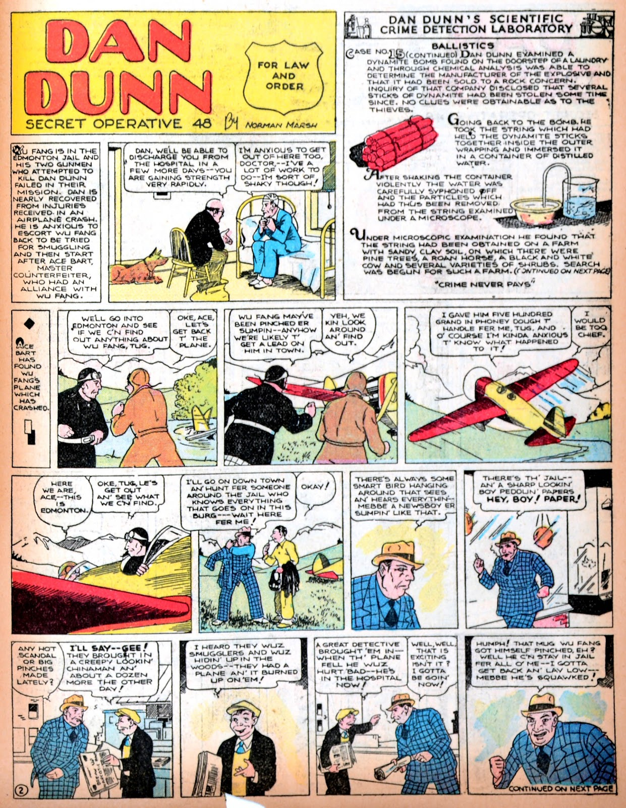 Read online Famous Funnies comic -  Issue #11 - 56