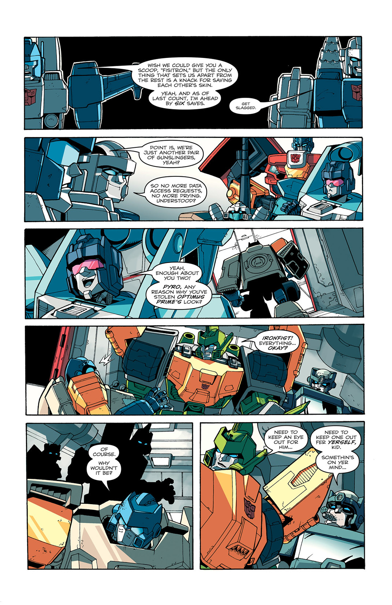 Read online Transformers: Last Stand of The Wreckers comic -  Issue #1 - 21