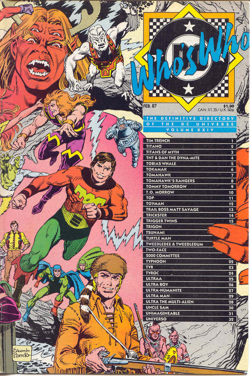 Whos Who: The Definitive Directory of the DC Universe 24 Page 1