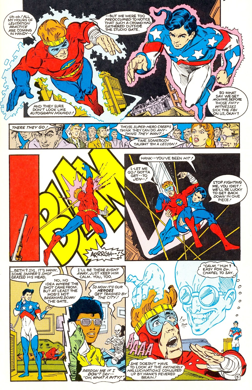 Infinity Inc. (1984) issue 35 - Page 7