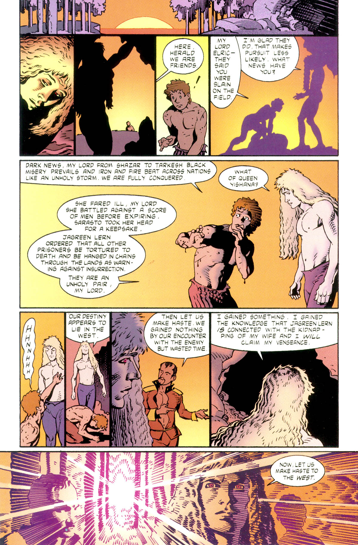 Read online Elric: Stormbringer comic -  Issue #1 - 30