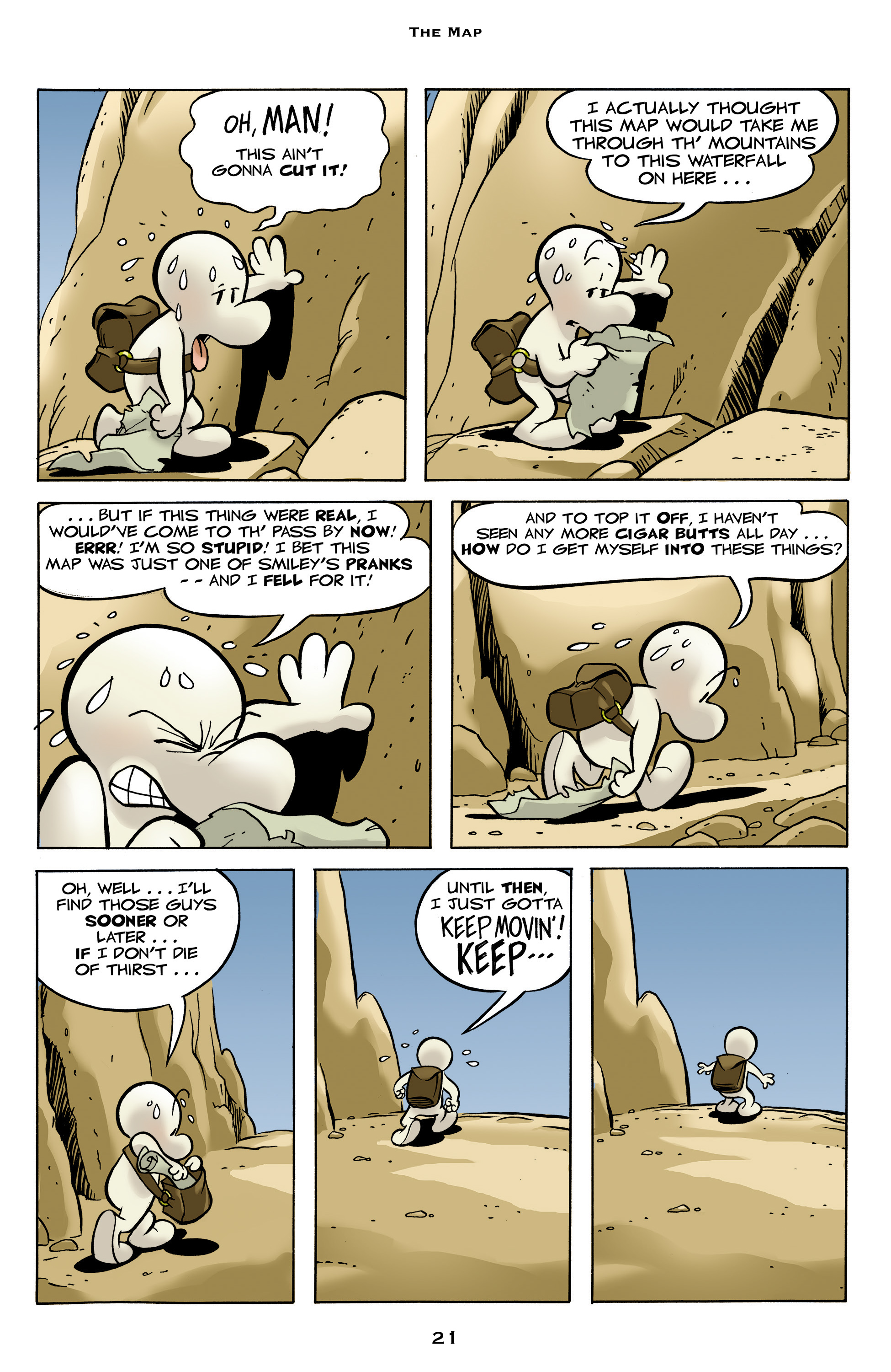 Read online Bone: Out From Boneville comic -  Issue # TPB - 21