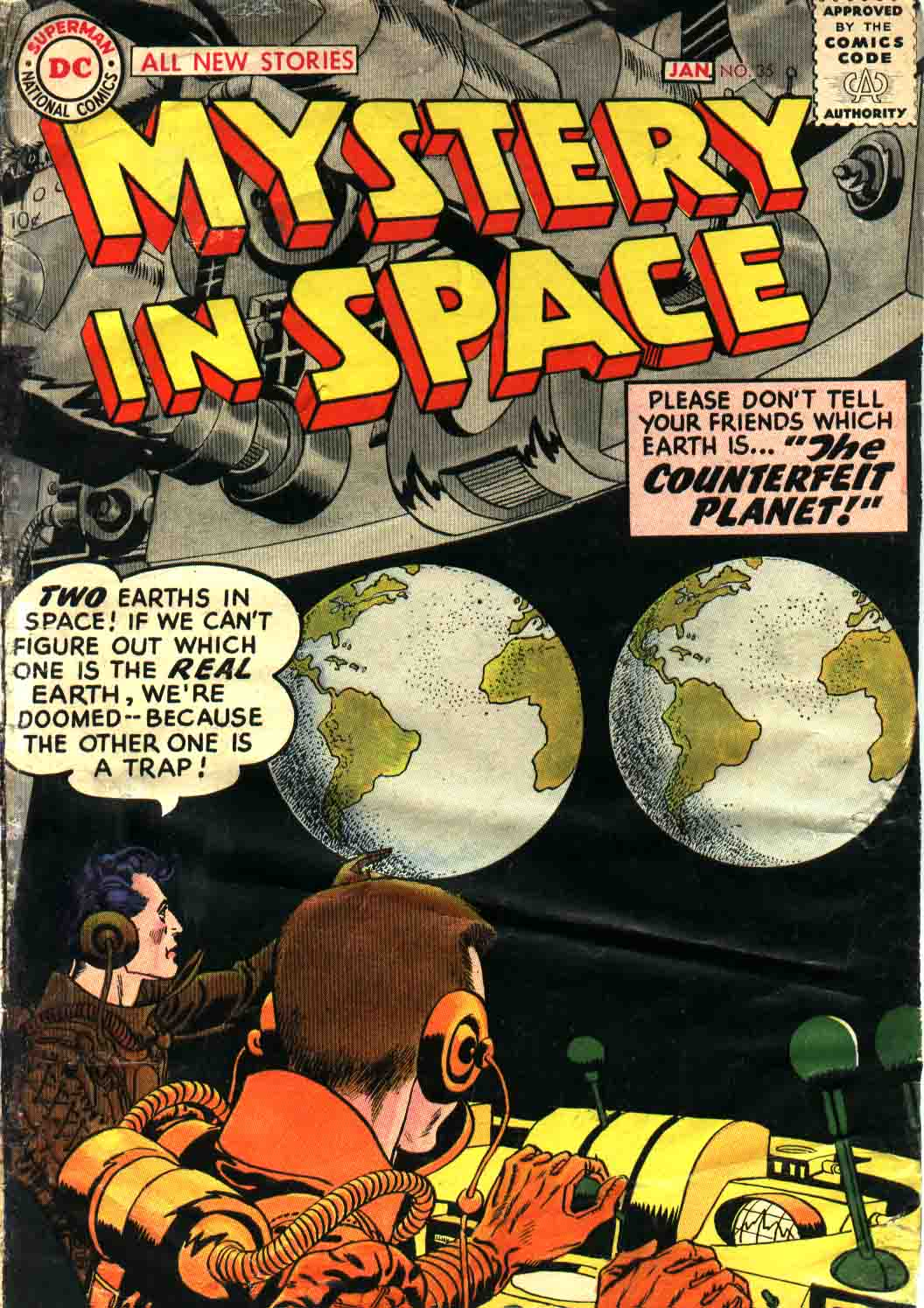 Mystery in Space (1951) issue 35 - Page 1