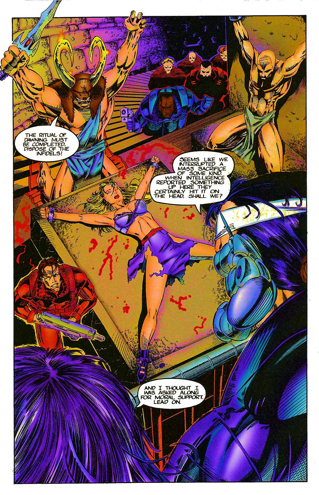 Read online Chains of Chaos comic -  Issue #1 - 9