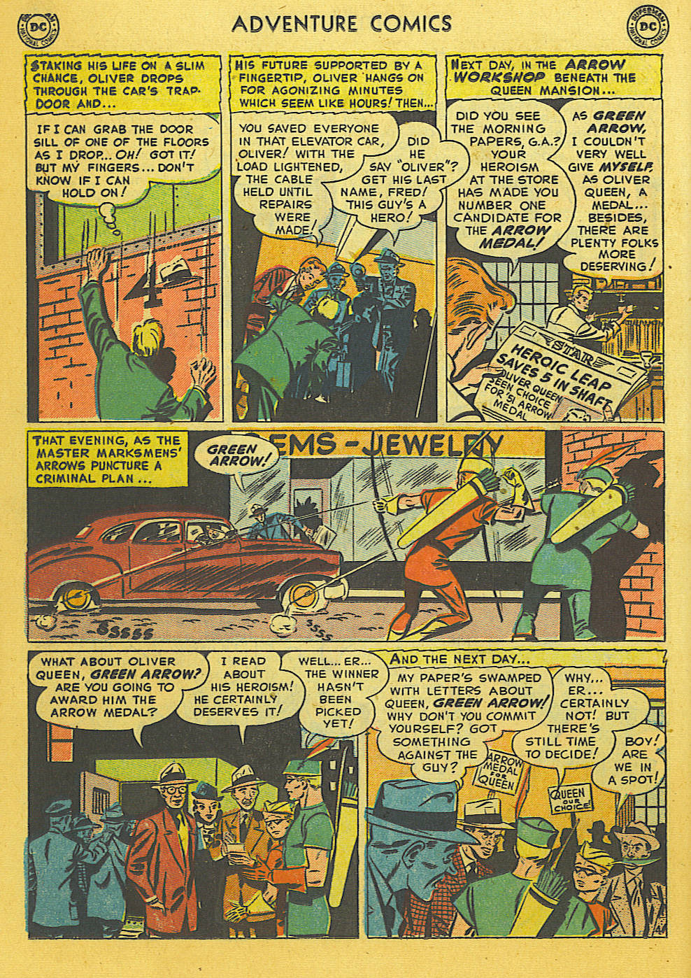Read online Adventure Comics (1938) comic -  Issue #169 - 17