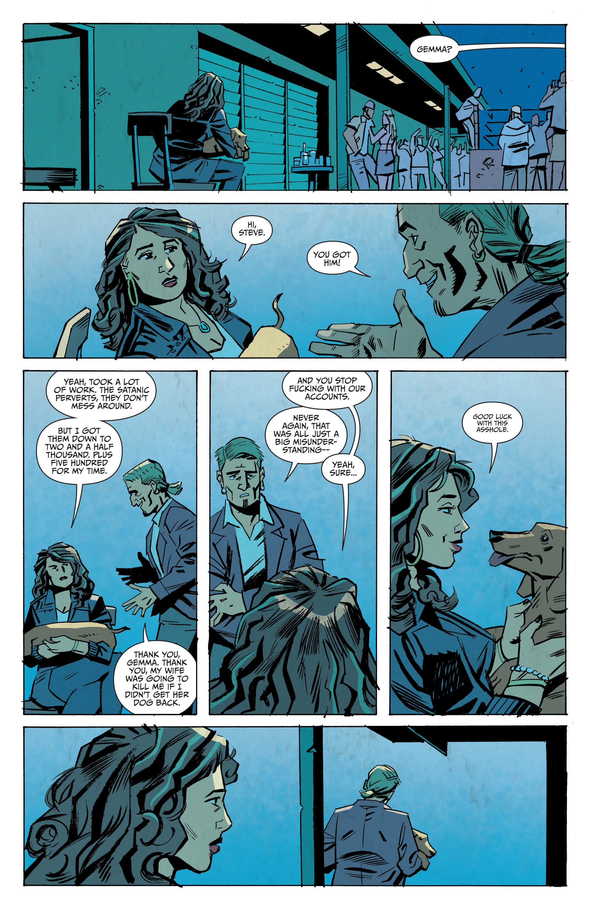 Read online Sons of Anarchy: Redwood Original comic -  Issue #8 - 21