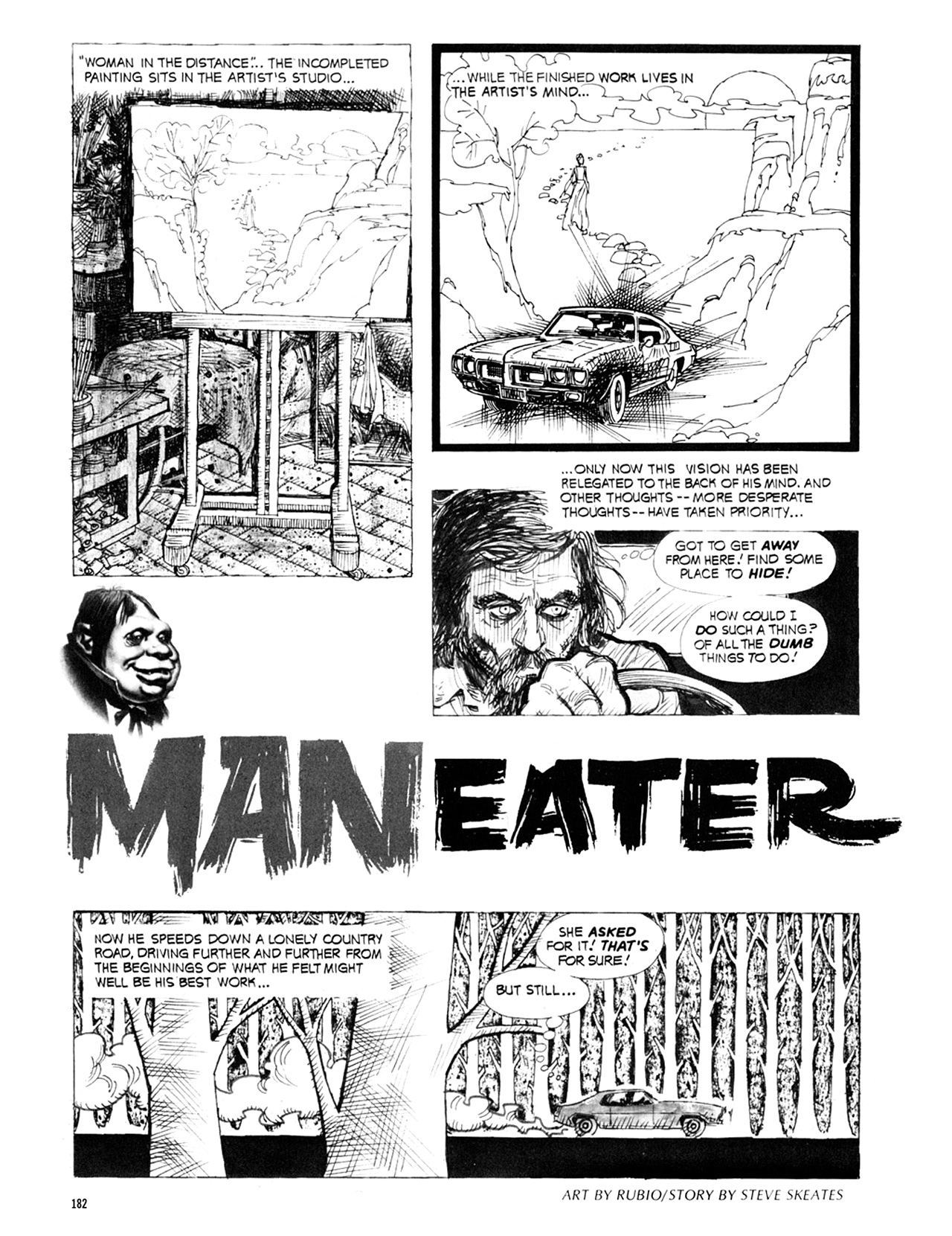 Read online Eerie Archives comic -  Issue # TPB 9 - 183