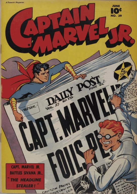 Captain Marvel, Jr. issue 39 - Page 1